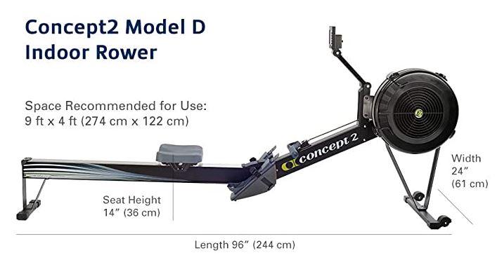 Rameur Concept 2 modèle D
